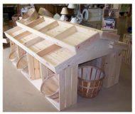 باکس چوبی برای میوه ، قنادی ، گل و گیاه ، فروش جعبه چوبی