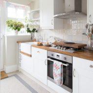 صفحه چوبی برای اپن آشپز خانه
