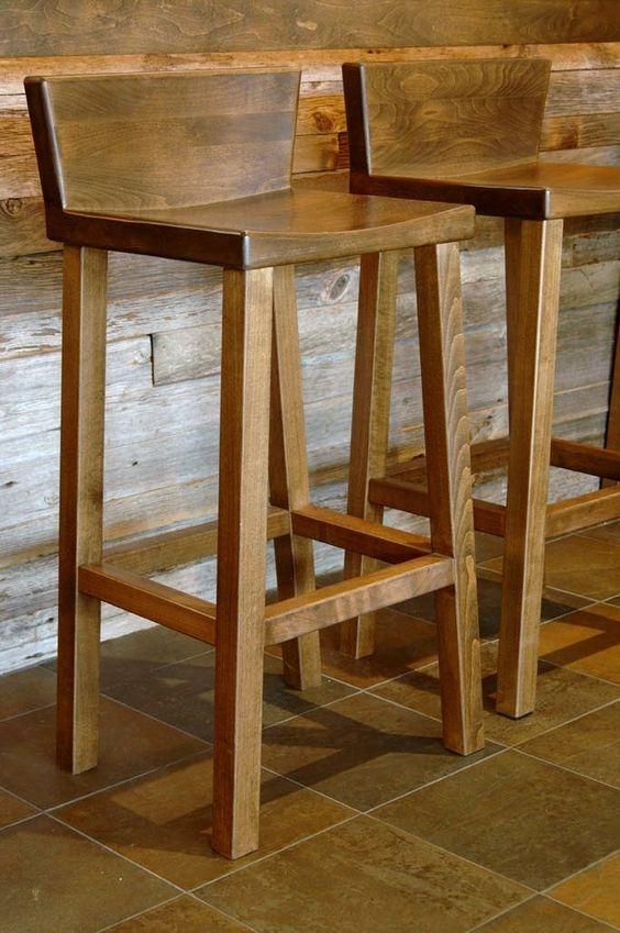 مدل صندلی های چوبی اپن