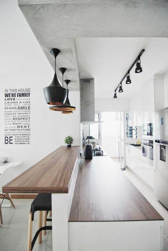 فروش میز بار و کانتر چوبی (1)