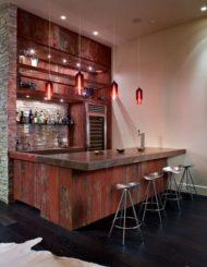فروش میز بار و کانتر چوبی