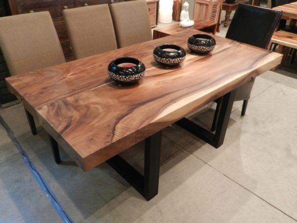 فروش میز ناهارخوری تمام چوب درختی (1)
