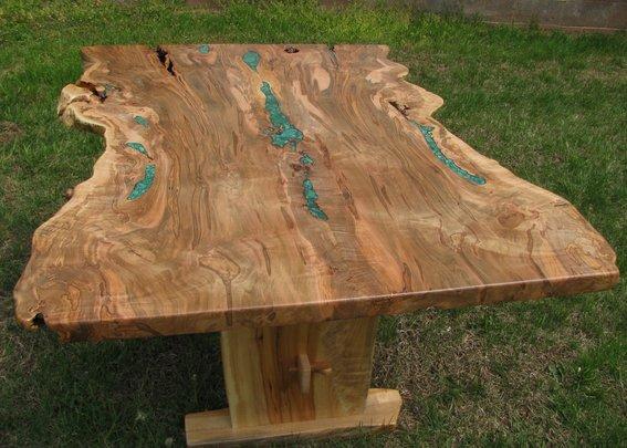 فروش میز ناهارخوری تمام چوب درختی (3)