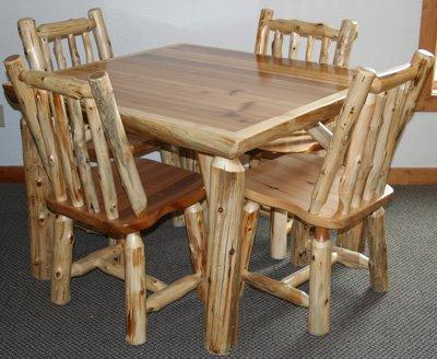 فروش میز ناهارخوری تمام چوب درختی (5)