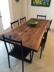 فروش میز ناهار خوری درختی