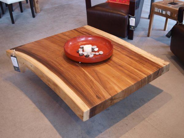 میز وسط مبل چوبی درختی جنگلی