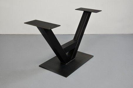 پایه میز استیل ، فلز و آهنی برای میز های چوبی روستیک