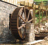 آسیاب آبی چوبی ، ساخت و تولید