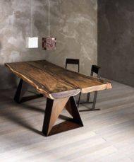 تولید میز ناهار خوری رویه چوبی