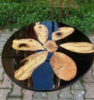تولید میز ناهار خوری چوب و رزین