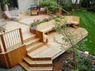 8 ایده جدید دکوراسیون تراس و پاسیو با چوب