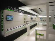 طراحی داخلی موبایل فروشی 18 ایده جدید