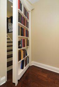 طراحی درب مخفی خانه بین راهرو ها و اتاق