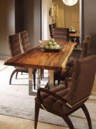 عکس میز چوبی