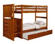 فروش تختخواب دو طبقه چوبی ، دکوراسیون روستیک
