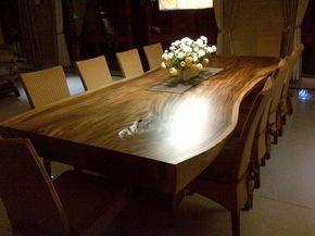 میز ناهار خوری مدل درختی تمام چوب طبیعی (3)