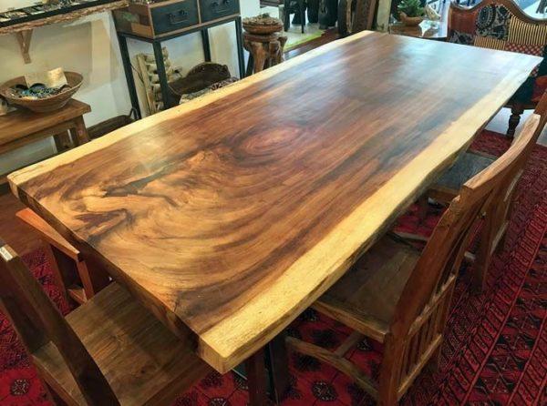 میز ناهار خوری مدل درختی تمام چوب طبیعی (5)