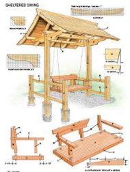 8 مدل تاب چوبی
