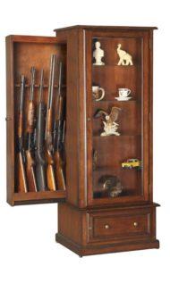 8 مدل کمد چوبی برای اسلحه شکاری