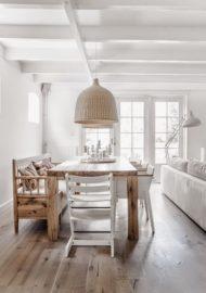 طراحی و تولید میز ناهار خوری درختی