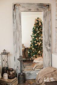 آینه قدی چوبی درختی