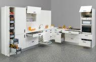 طراحی اشپزخانه با رنگ سفید