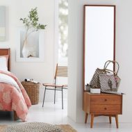 آینه کنسول و بوفه چوبی