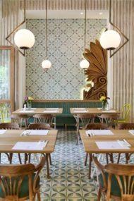 اجرای دکور های جدیدی از رستوران