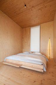 انواع دکور اتاق خواب چوبی