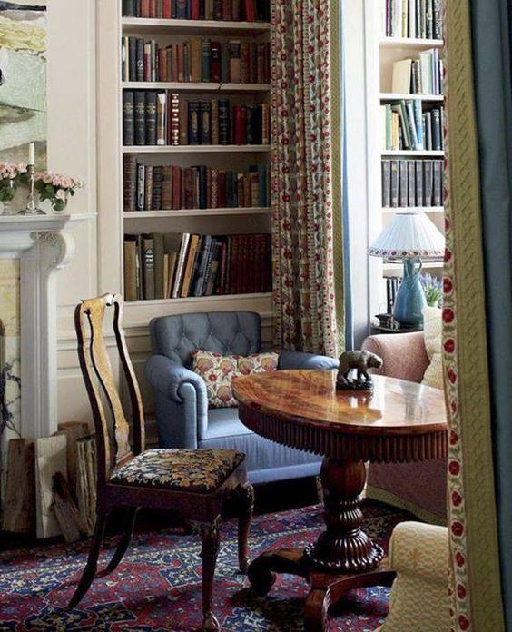 انواع طرح ها و مدل های جدید کتابخانه خانگی چوبی