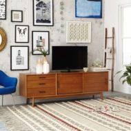 انواع طرح و نمونه از میز تلویزیون چوبی