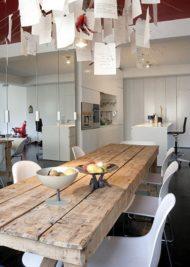انواع مدل های جدید و متنوع از میز ناهارخوری چوبی
