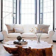 انواع میز جلو مبلی و عسلی چوبی