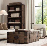 ایده های جدید برای میز جلو مبلی چوبی