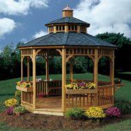 ایده های ساخت آلاچیق و کلبه چوبی برای حیاط و ویلا