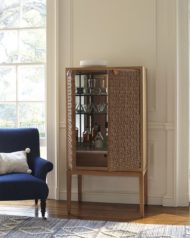 تصاویر جدید از مدل های لوکس میز بار کمد دار چوبی