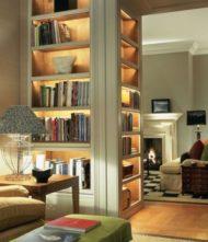 تصاویر مدل کتابخانه خانگی جدید با انواع طراحی مدرن
