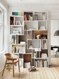خرید انواع مدل های کتابخانه خانگی چوبی
