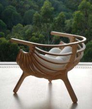 خرید صندلی چوبی برای ویلا