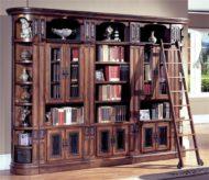 خرید کتابخانه خانگی چوبی