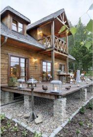 ساخت سایبان چوبی برای تراس