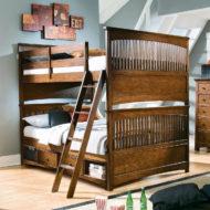 شیک ترین مدل های تخت خواب نوجوان دو طبقه چوبی