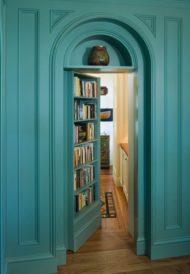طراحی و اجرای کتابخانه های مخفی
