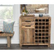 طرح های لوکس و جدید از میز بار چوبی
