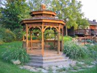 عکس آلاچیق و کلبه چوبی جدیدو شیک با طراحی مدرن