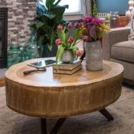 عکس از مدل های جدید میز پذیرایی چوبی