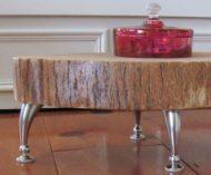 عکس از مدل های لاکچری میز مقابل مبل چوبی