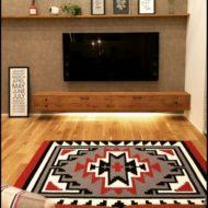 عکس مدل های شیک میز تلوزیون چوبی