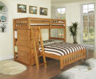 عکس های مدل تخت خواب دو طبقه کودک با طرح های فانتزی چوبی