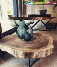 عکس های مدل میز جلو مبلی جدید و لوکس چوبی